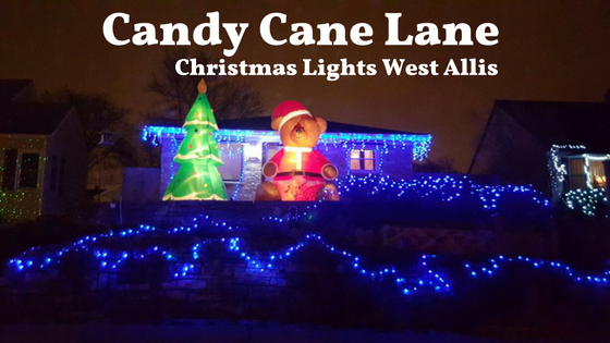 Candy Cane Lane Christmas Lights West Allis