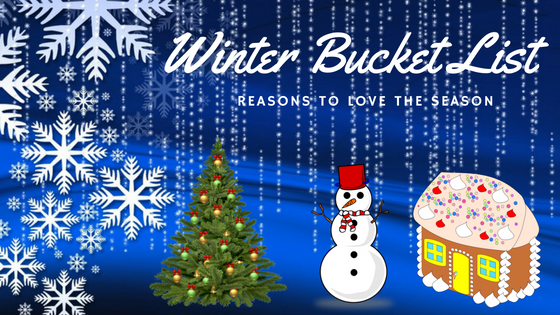 Enjoy Snowy Season Winter Bucket List