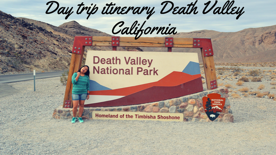 Day trip itinerary for Death Valley California