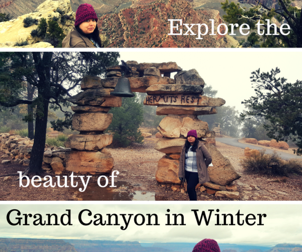 Explore the beauty of Grand Canyon in Winter