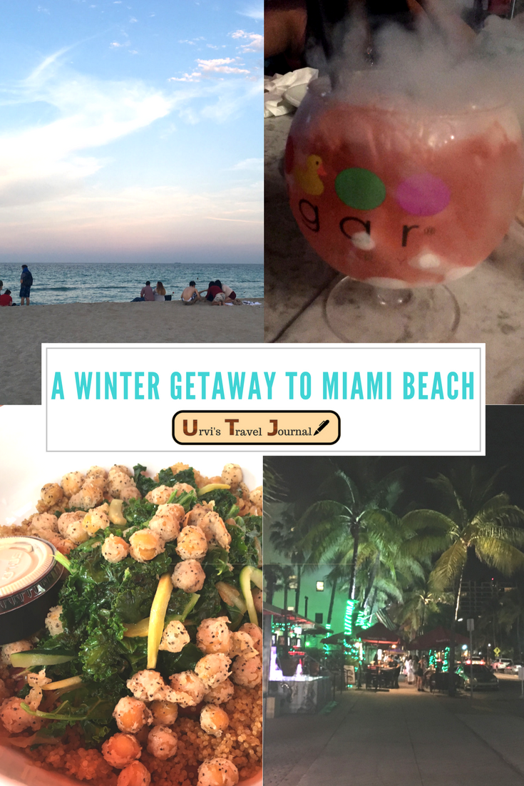 A Winter getaway to Miami Beach