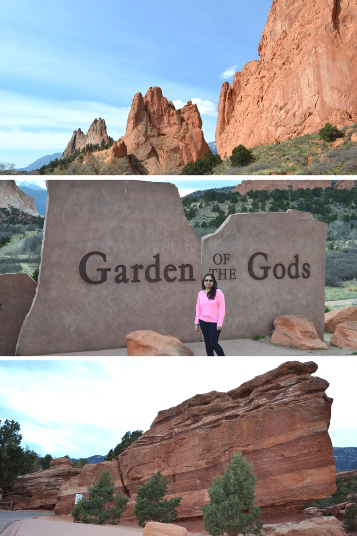 Garden of the Gods in Colorado Spring