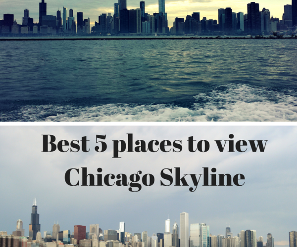 Best 5 places to view Chicago Skyline
