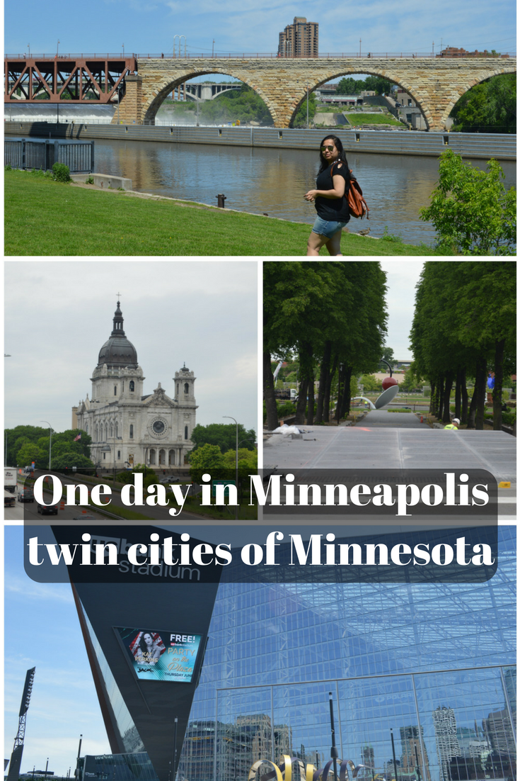 one day in Minneapolis twin cities of Minnesota