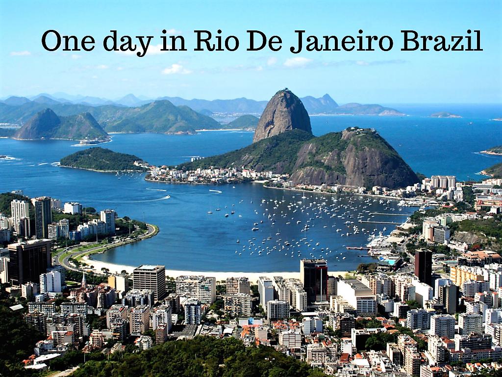 One day in Rio De Janeiro Brazil