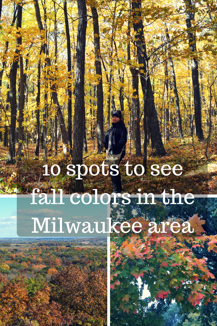 Best spots to see fall colors in the Milwaukee area