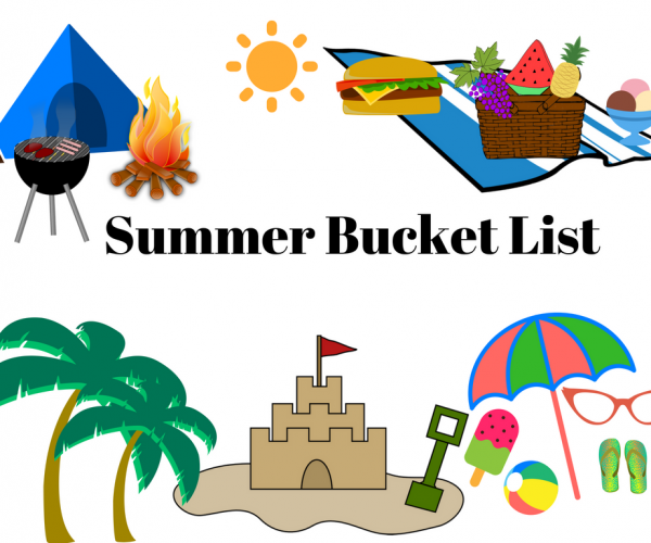 Summer bucket list from Urvi's Travel Journal
