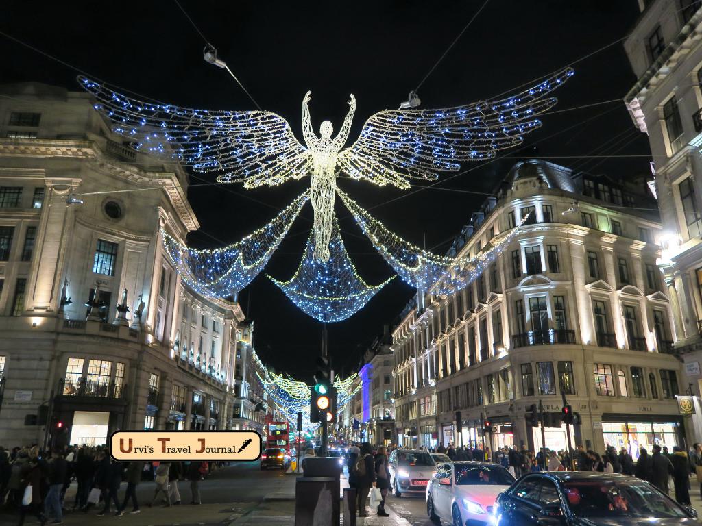 Enjoy Christmas in London by Travel hacker girl