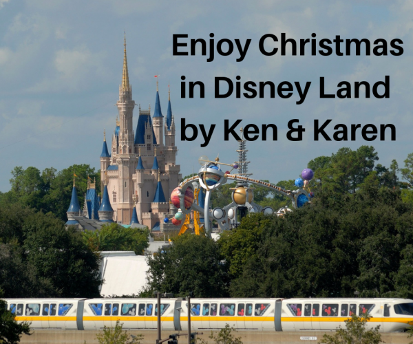 Enjoy Christmas in Disney Land by Ken & Karen