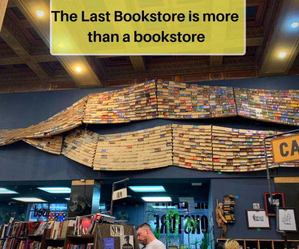The last bookstore is more than a bookstore