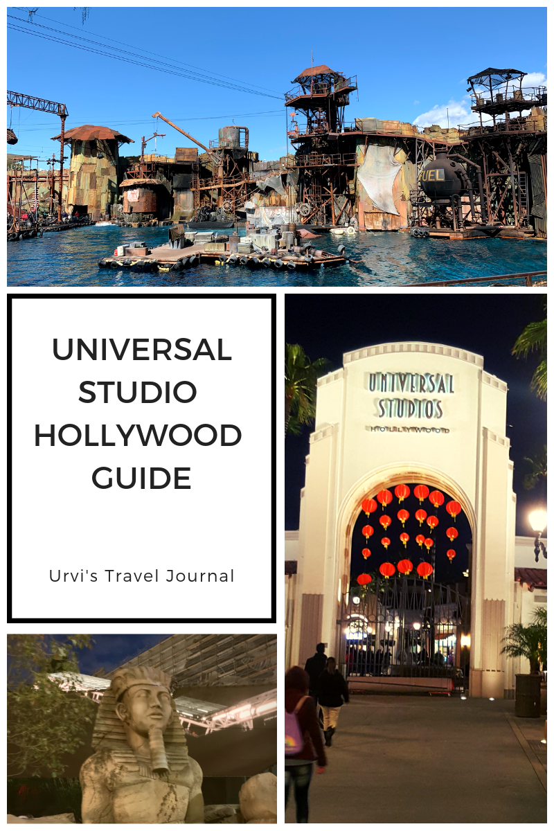 UNIVERSAL STUDIO HOLLYWOOD GUIDE