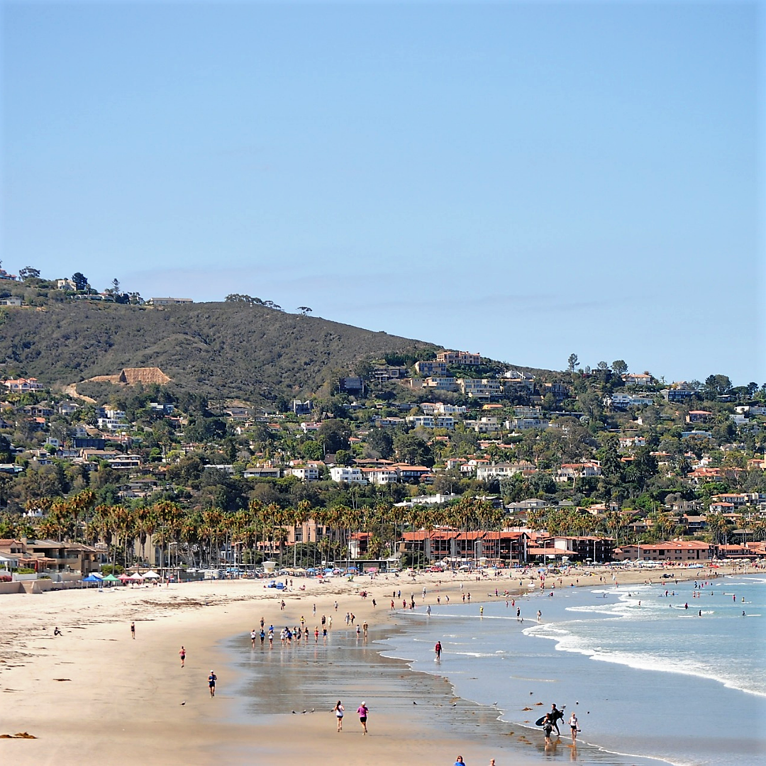 View of La Jolla shores, San Diego