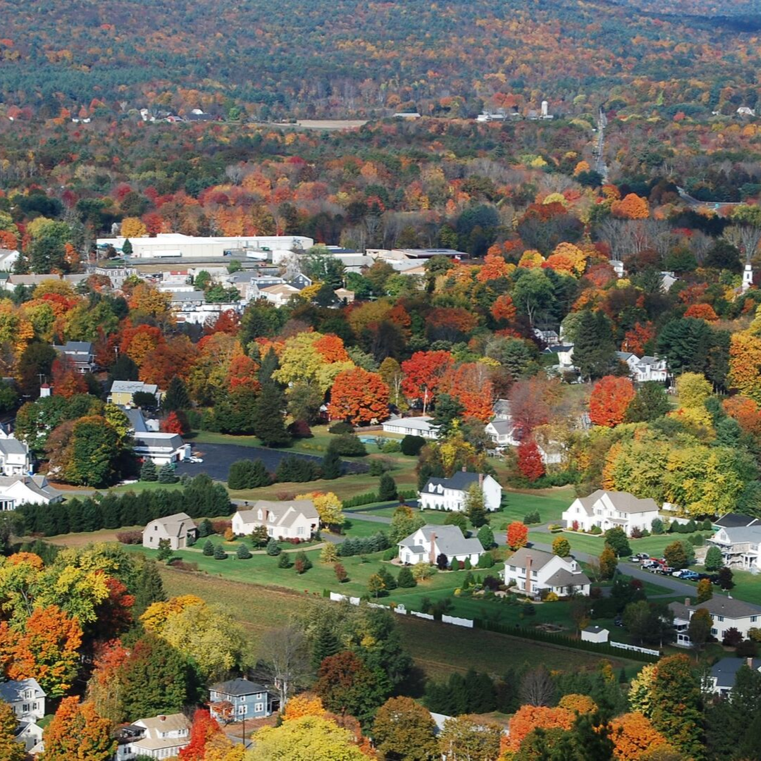 fall colors in Massachusetts