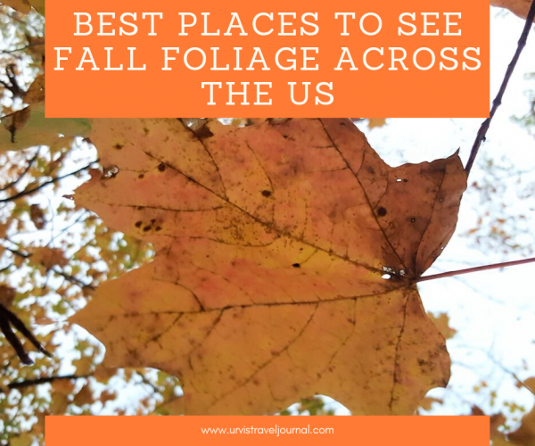 Best places to see fall colors across the US