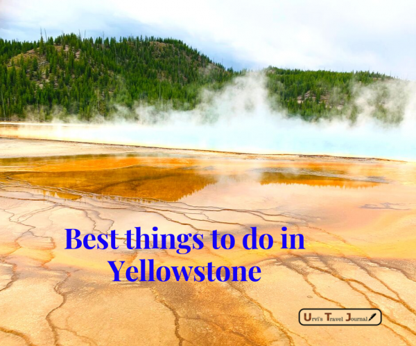 Yellowstone bucket list