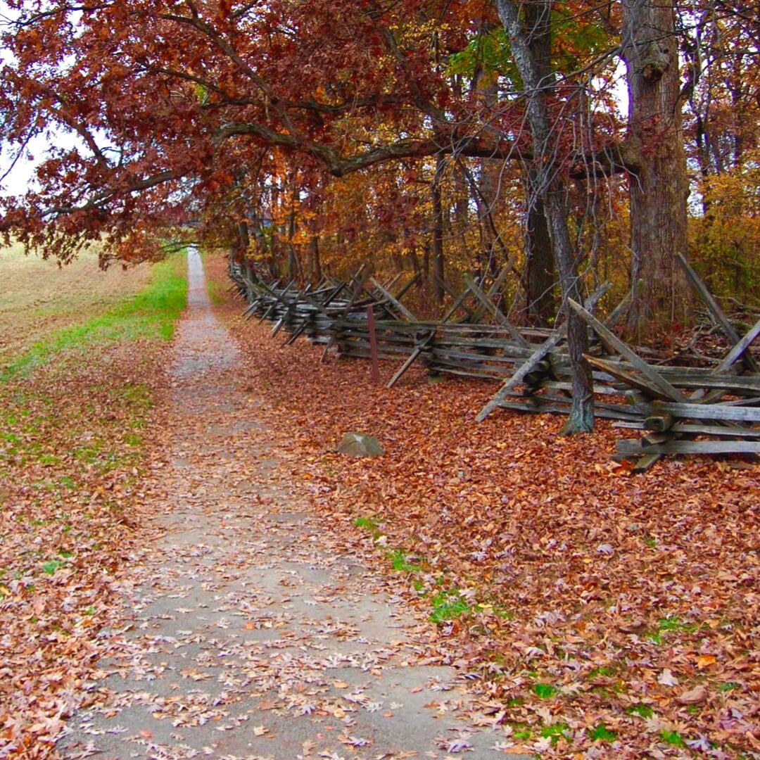 Fall foliage in Gettysburg