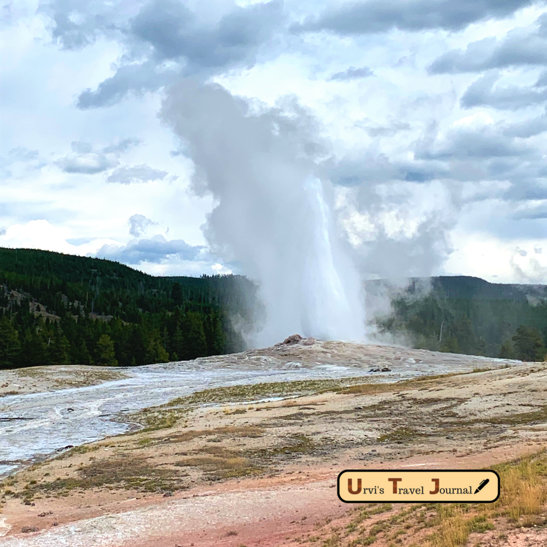 Most popular old faithful geyser