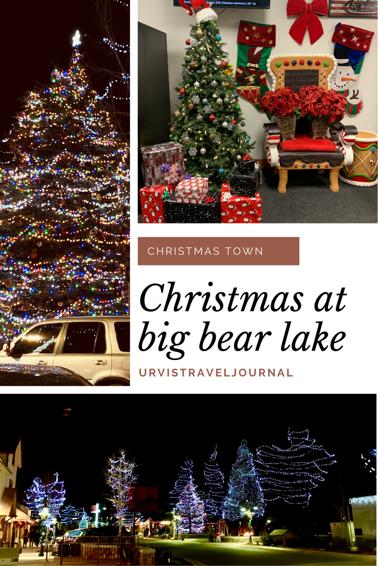 things to do in big bear lake during christmas