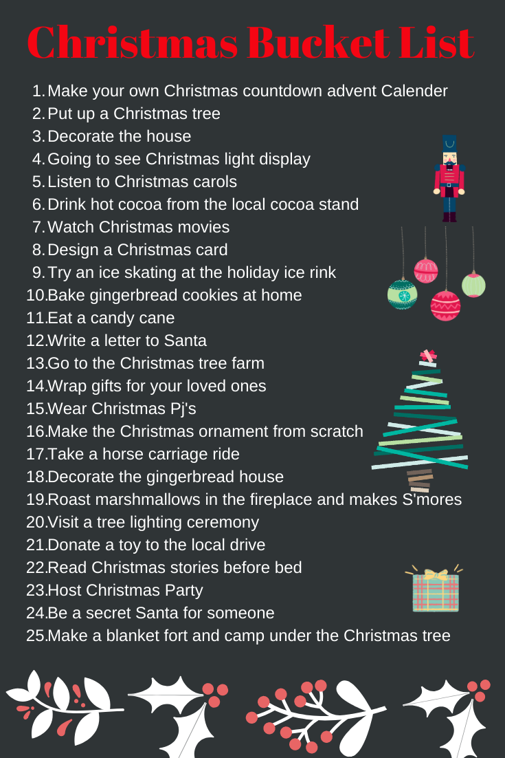 Things to do during Christmas
