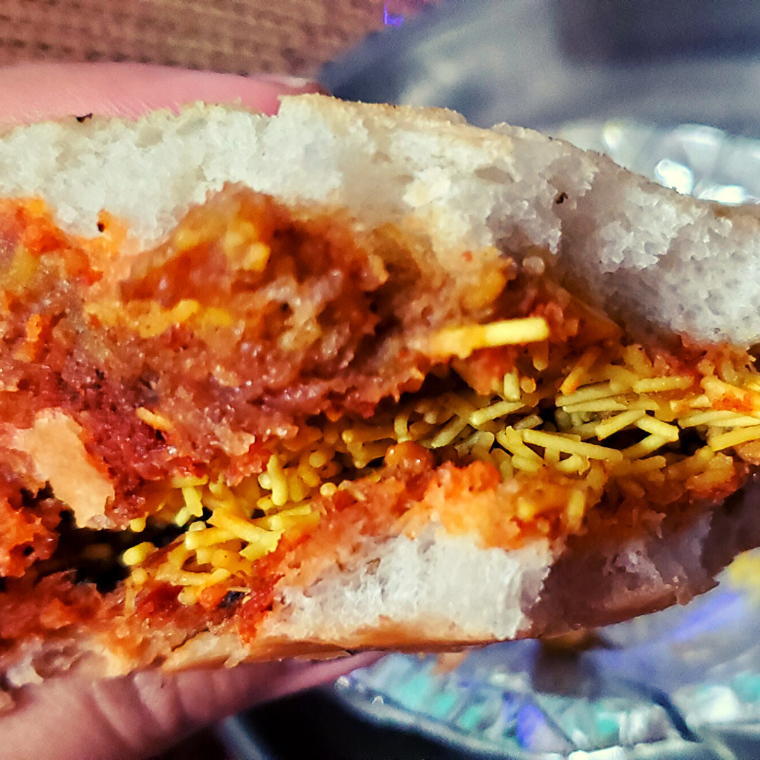 Delicious Kachi Dabeli from Gujarat