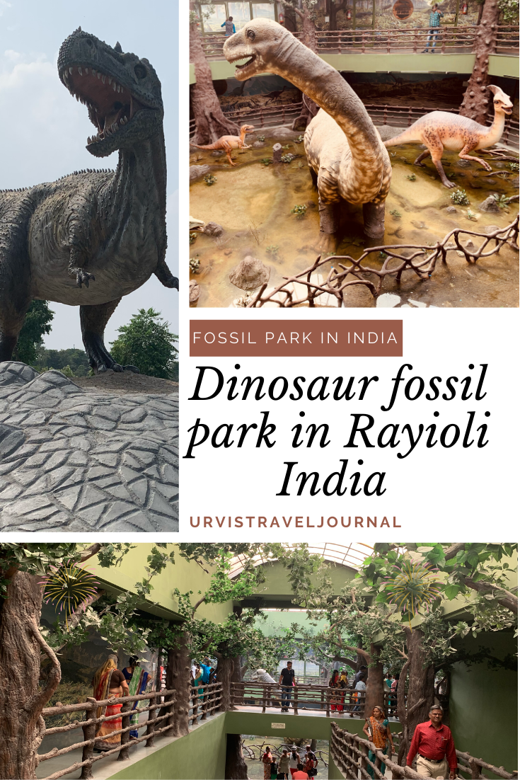 Dinosaur fossil park in the town of raiyoli balasinor gujarat