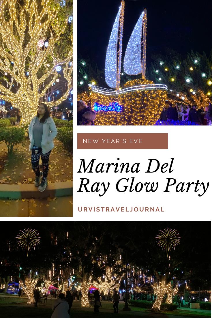New year celebration at burton Chase park in Marina Del Ray