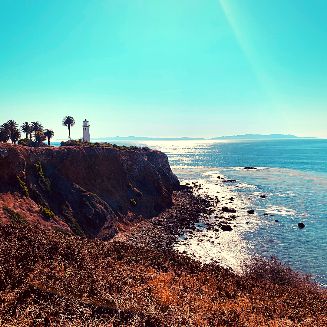 Picnic at Point Vicente lighthouse in palos verdes