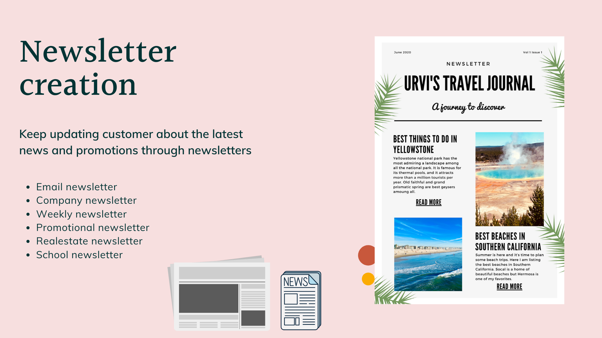 Keep your readers connected with latest news