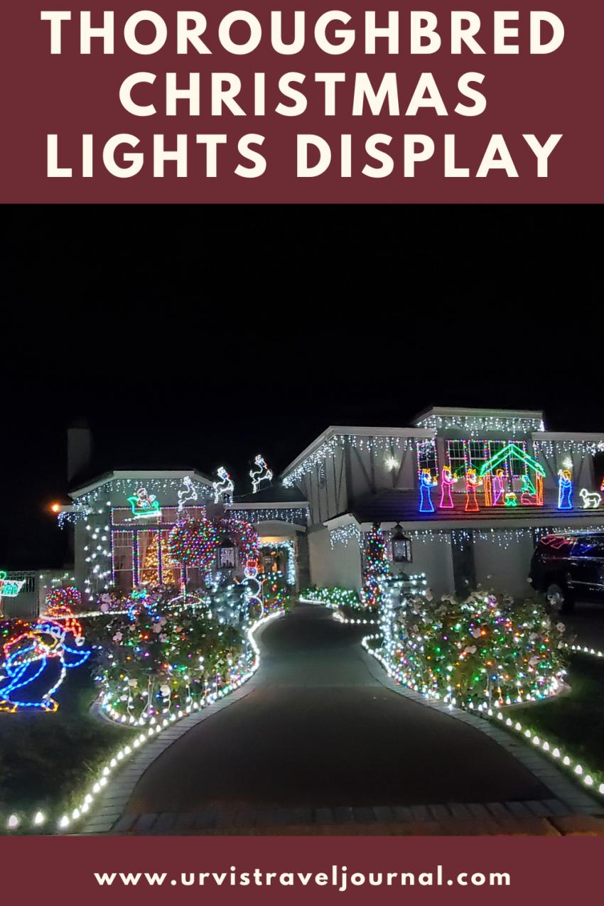 Christmas lights display inland empire