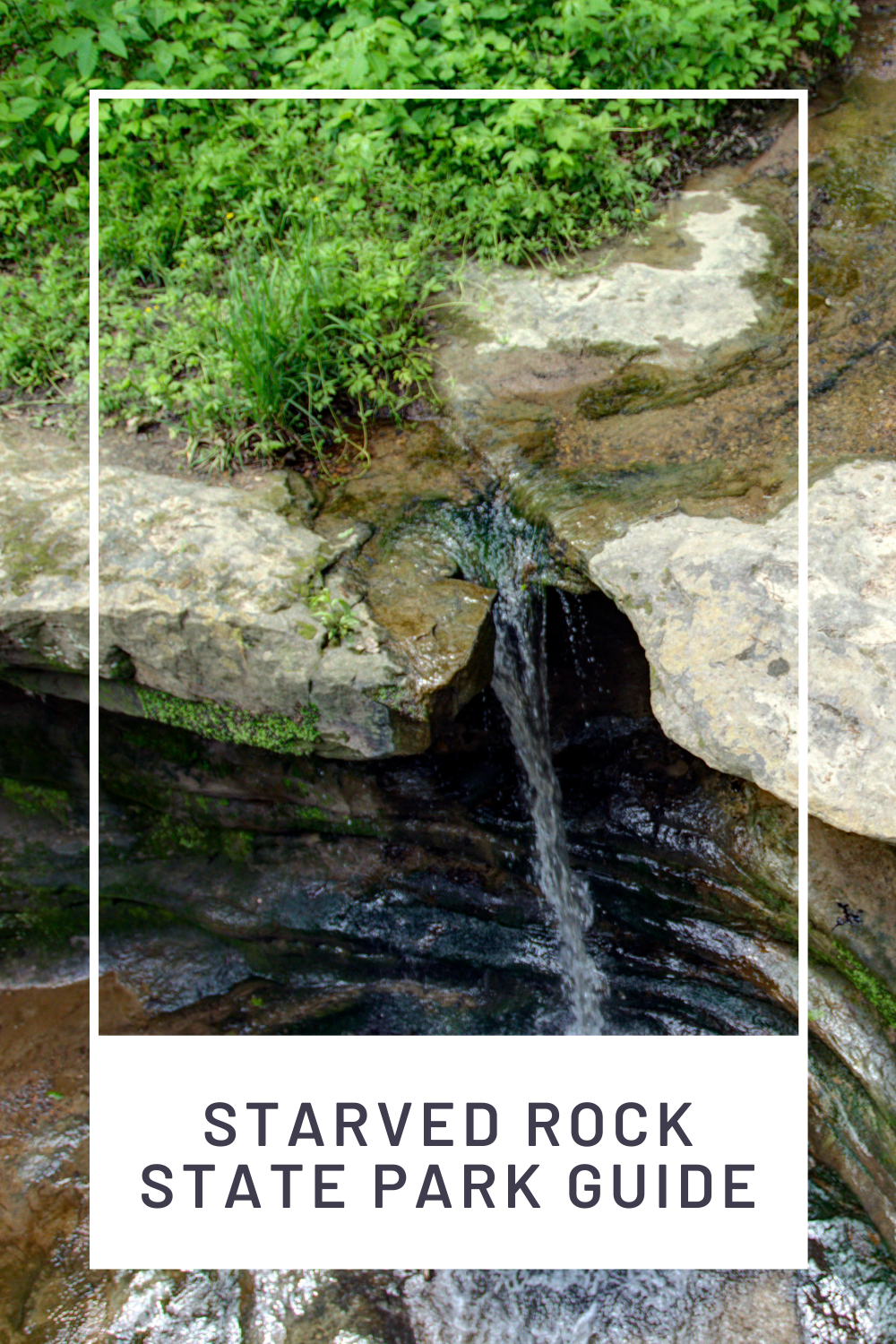 Starved rock state park canyon