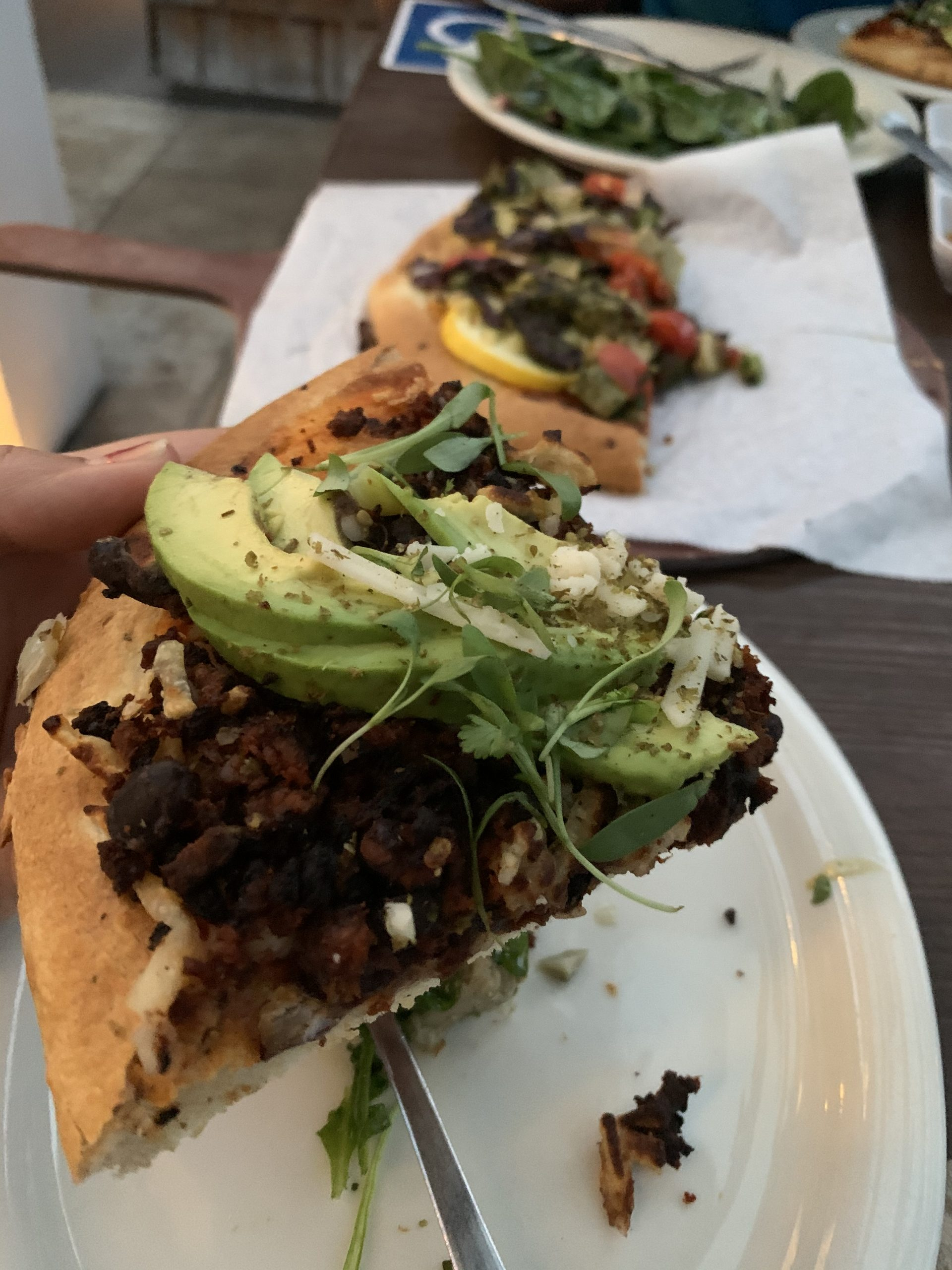 Review of Urth Caffe's organic coffee and Food
